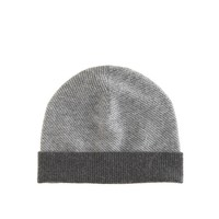 Boys' grey cashmere hat