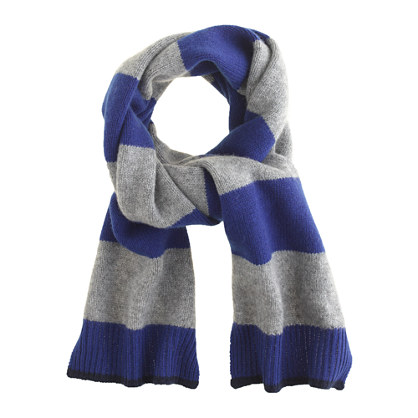 boys colorblock scarf gifts for boys j crew