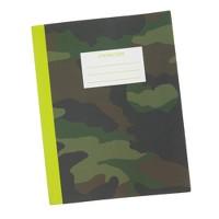 Kids' camo notebook