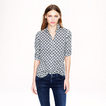 Perfect shirt in foulard