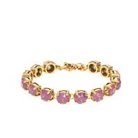 Swarovski crystal dot bracelet