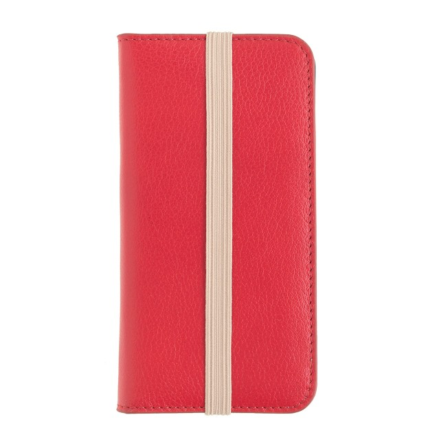 Leather wallet case for iPhone® 5/5s