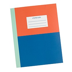 Kids' colorblock notebook