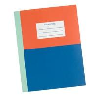 Kids' colorblock notebook