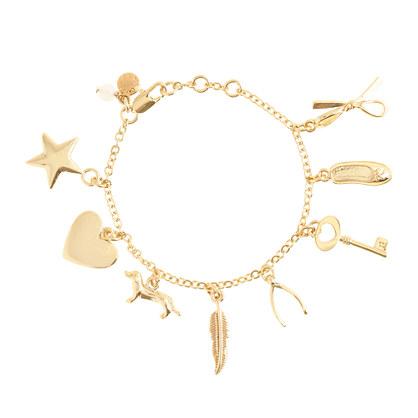 Girls' classic charm bracelet