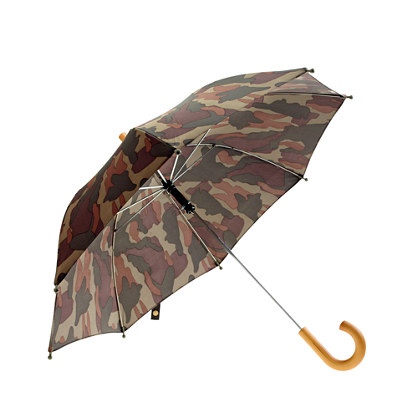 Boys' camo umbrella
