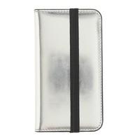 Mirror metallic wallet case for iPhone® 4/4s