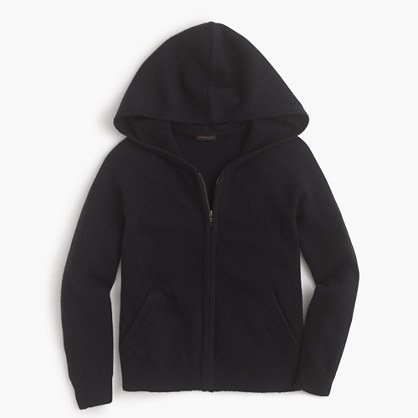 Kids' cashmere hoodie