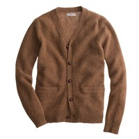 Wallace & Barnes wool cable-knit cardigan