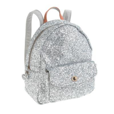 Girls' mini glitter backpack : Girl Backpacks & school supplies ...