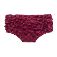Ratti geo print high-waist brief