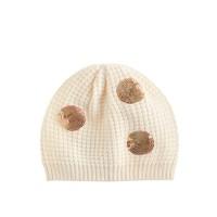 Girls' sequin dot hat