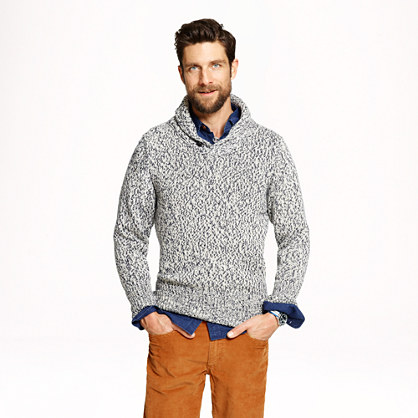 North Sea Clothing victory shawl sweater