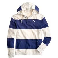 Halyard hoodie in surf stripe