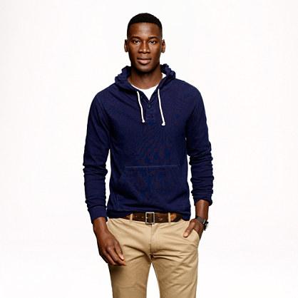 Halyard henley hoodie