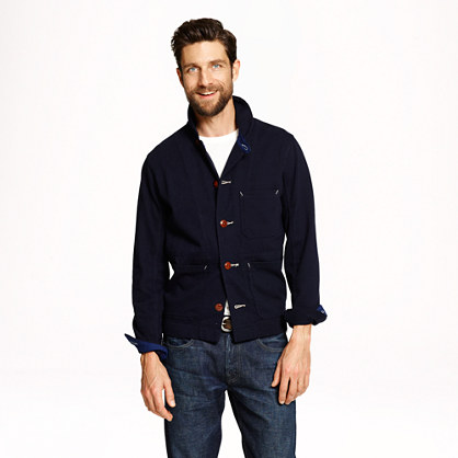 Wallace & Barnes knit chore coat