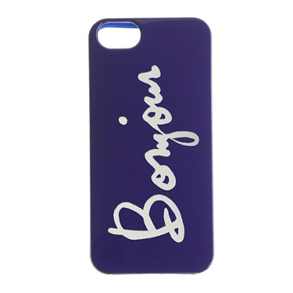 Bonjour case for iPhone® 5/5s