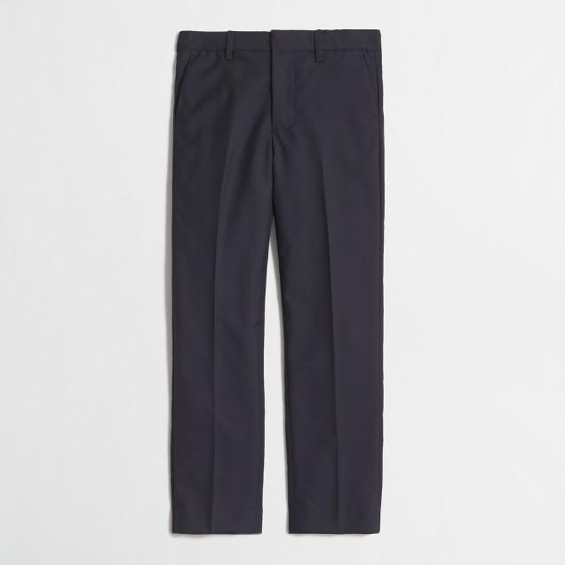 Boys' slim Ludlow suit pant in Italian wool
