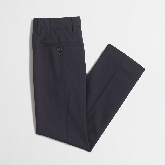 Boys' slim Ludlow suit pant in Italian wool