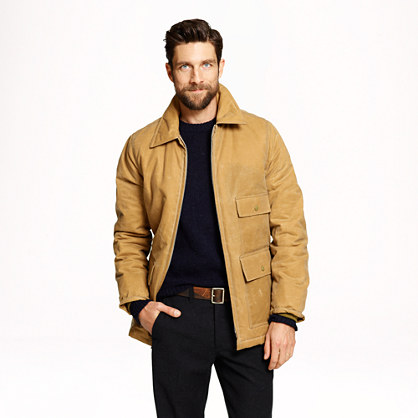 Waxed worker jacket with Thinsulate®