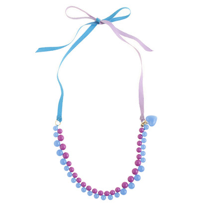 Girls' gumball necklace