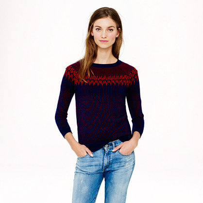 Merino Fair Isle sweater