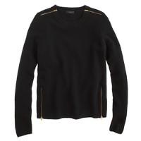 Double-zip sweater