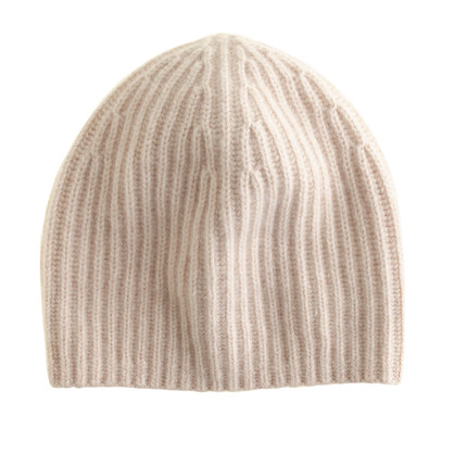 Chunky cashmere hat