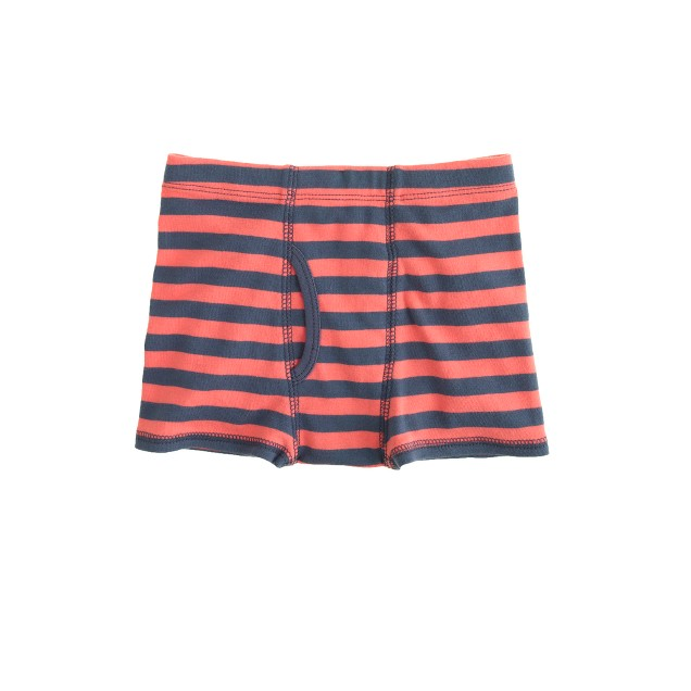 Boys' stripe boxer briefs