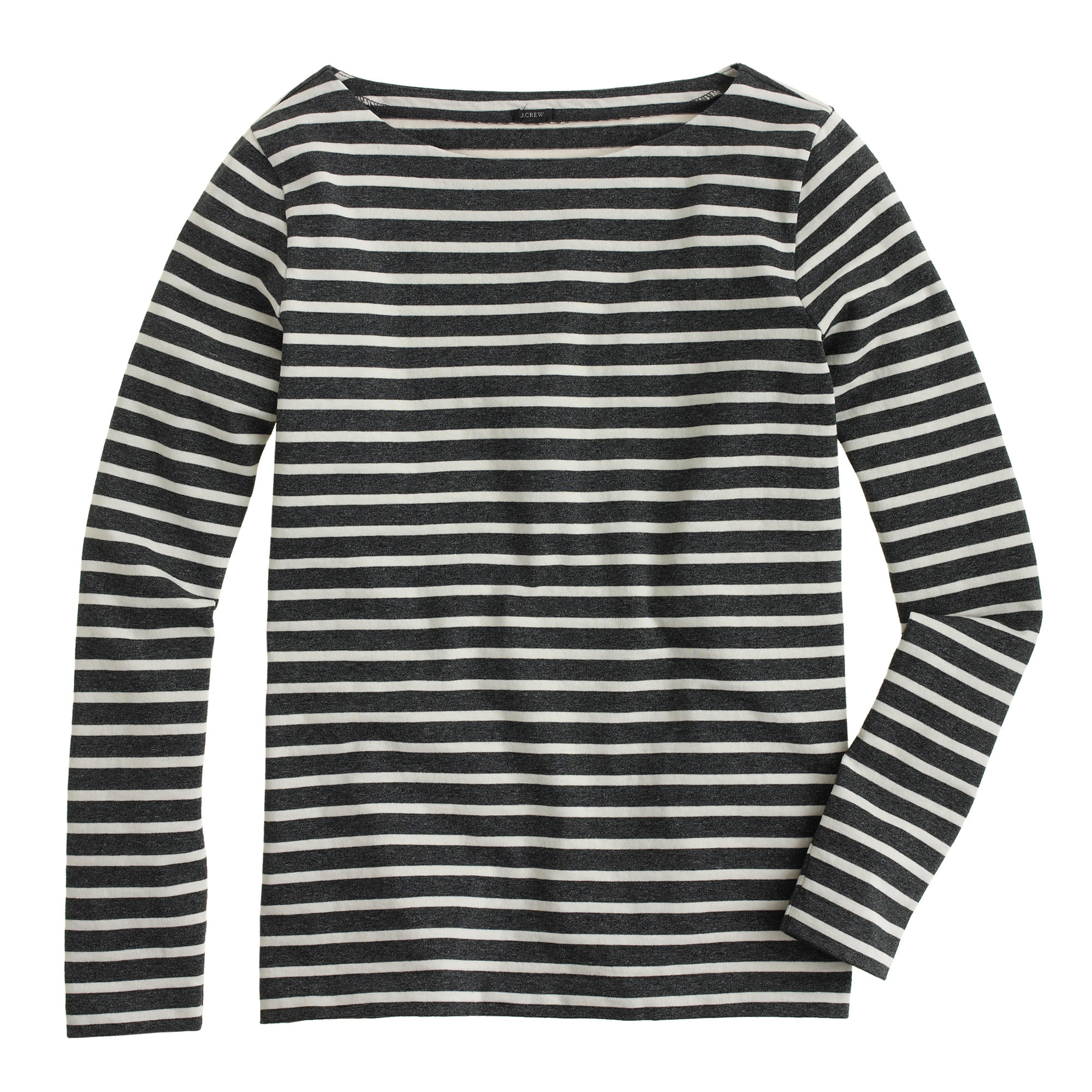 Long-sleeve sailor-stripe T-shirt : | J.Crew