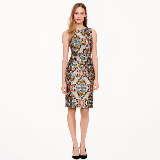 Collection misty fog floral dress