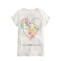 Girls' crewcuts for Teach for America T-shirt
