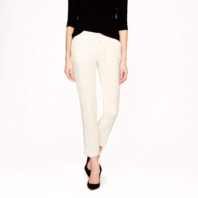 Collection women's Ludlow pant in Italian wool-mohair