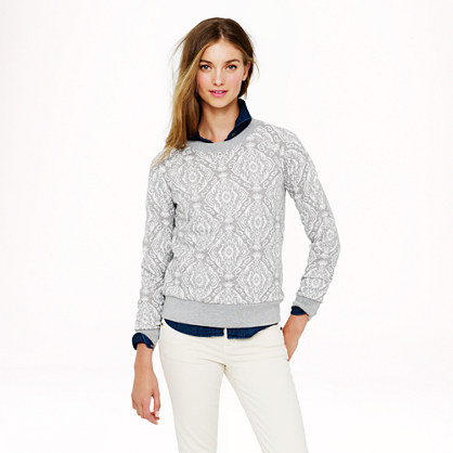 Medallion sweatshirt
