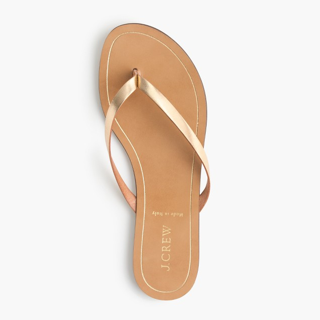 Rio metallic sandals