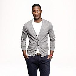 Cotton cardigan sweater
