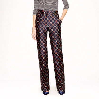 Collection trouser in foulard