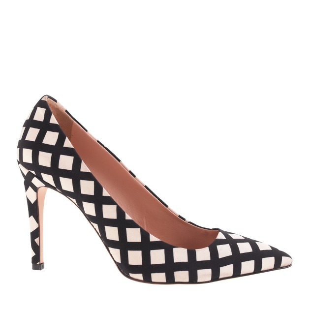 Falsetto printed pumps