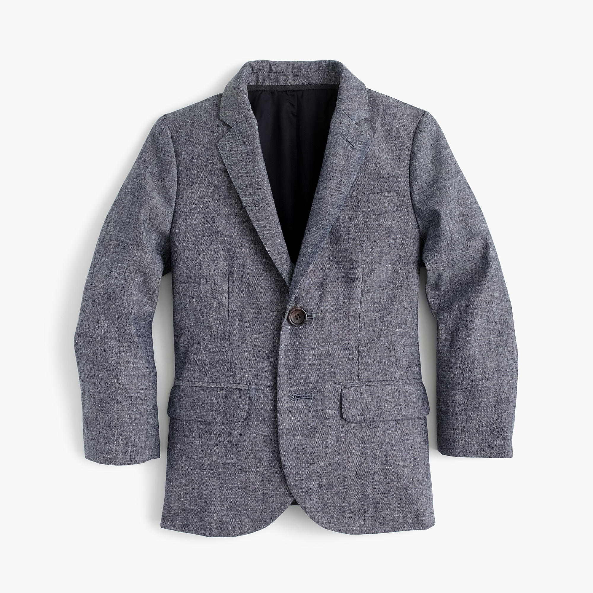 Suit jacket -  Boys Ludlow Suit Jacket In Japanese Chambray