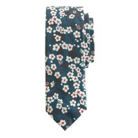Liberty tie in bright nightfall floral