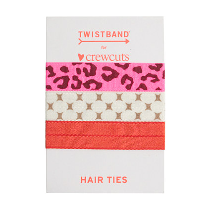Twistband® elastic hair band three-pack