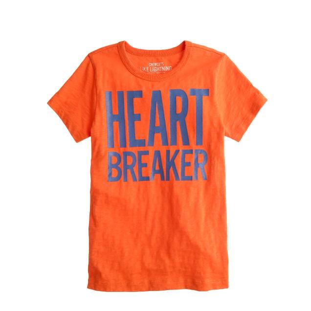 Boys' heartbreaker tee