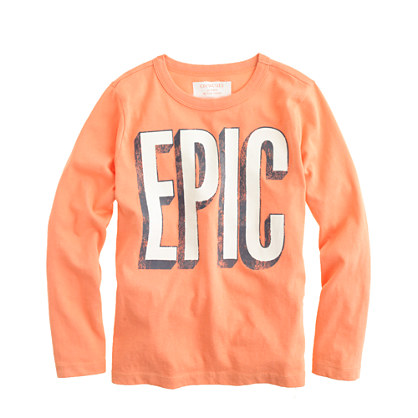 Boys' long-sleeve epic tee