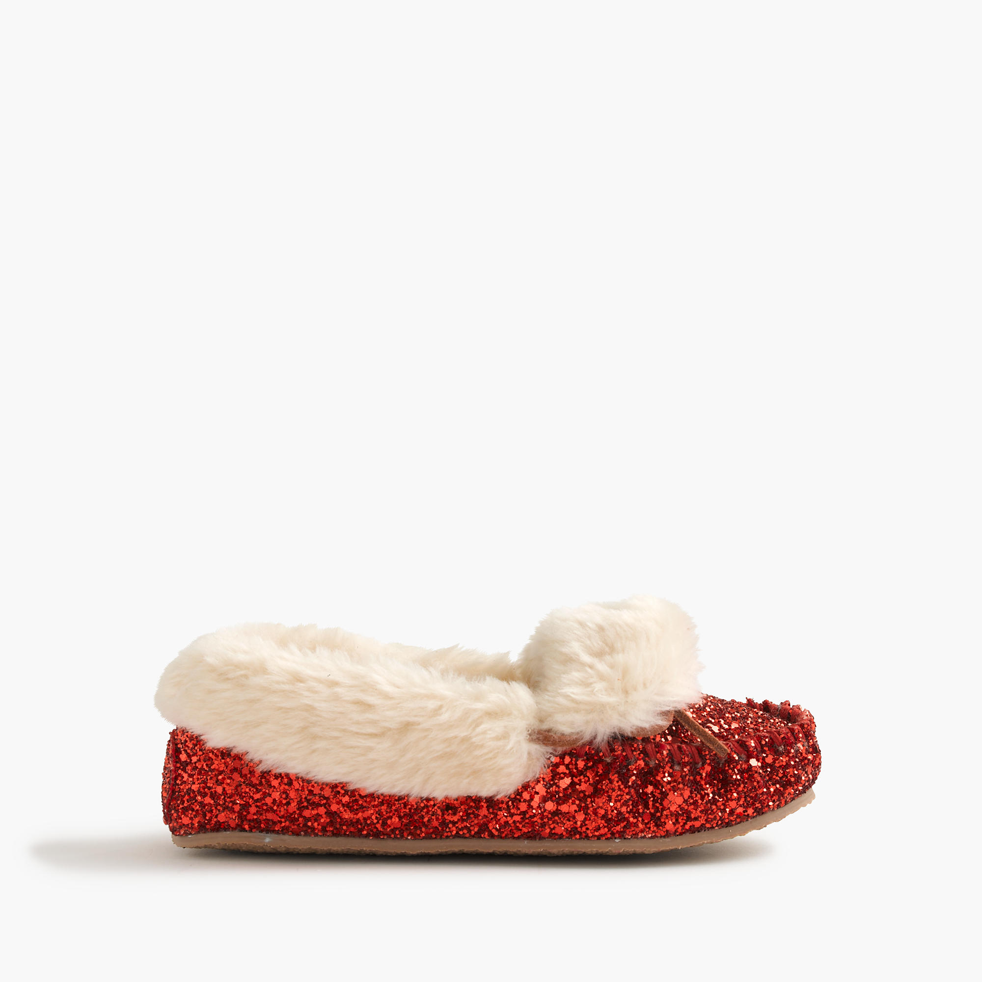 Girls glitter mocs for only $27 #cybermonday