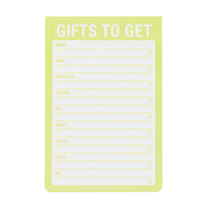 Knock Knock® for J.Crew jumbo sticky notes