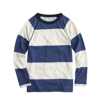 Boys' stripe rash guard