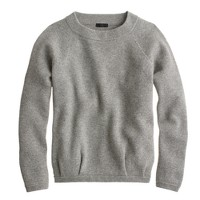 Collection double-knit cashmere sweatshirt