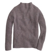 Collection Donegal cashmere back-zip sweater