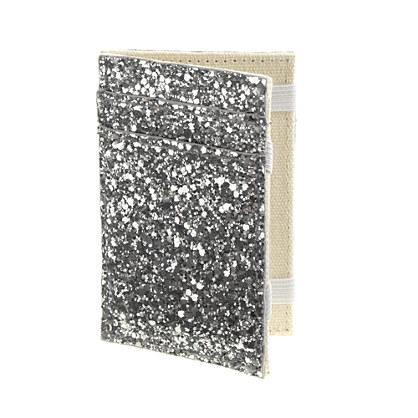 Girls' glitter magic wallet