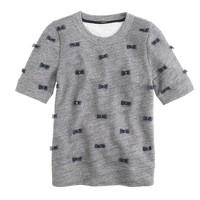 Mini-bows sweatshirt
